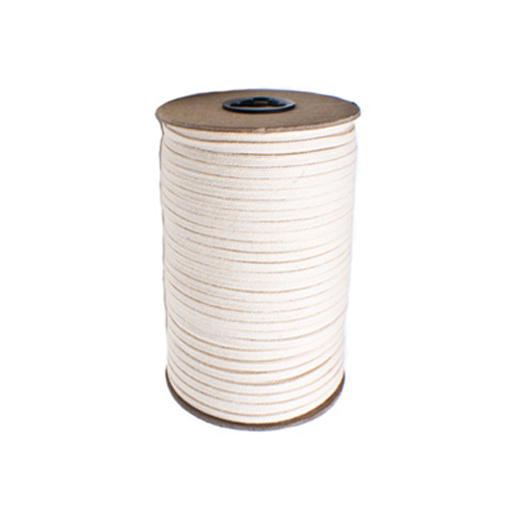 144 Yard Spool Flat Corset Lacing White Corset Making Supplies