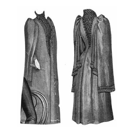 1891 Cloak For Elderly Lady From Corsetmakingsupplies