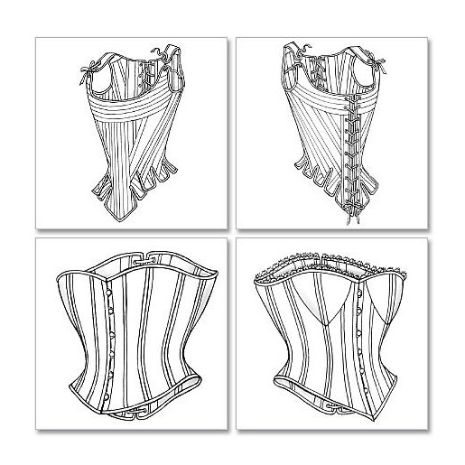 Stays Corsets Pattern From CorsetMakingSupplies Impressive Corset Pattern