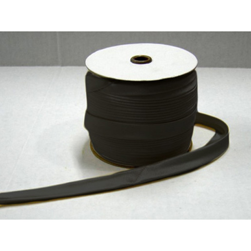 RING TRIM BLACK SATIN  TAPE WITH D