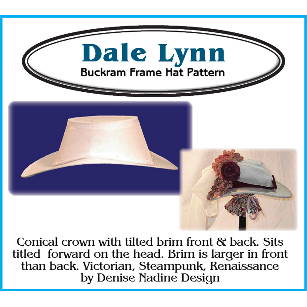 Dale Lynn Hat Pattern from CorsetMakingSupplies.com