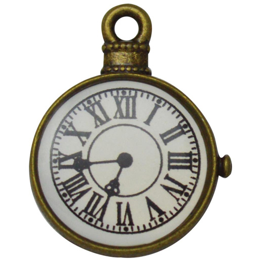 Brass Fob Watch Embellishment