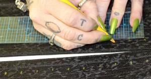 Marking holes